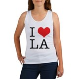I Love Los Angeles Tank Top