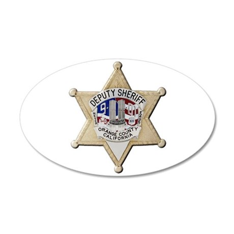 Orange County Sheriff 9-11 Wall Decal