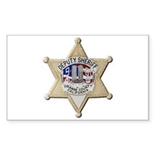 Orange County Sheriff 9-11 Decal