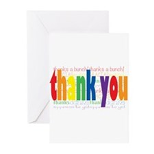 Rainbow Thank You Greeting Greeting Cards (Pk of 1