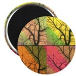 Magnet-Collage of Trees