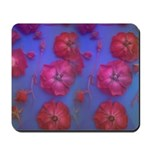 Mousepad-Roses with Blue background