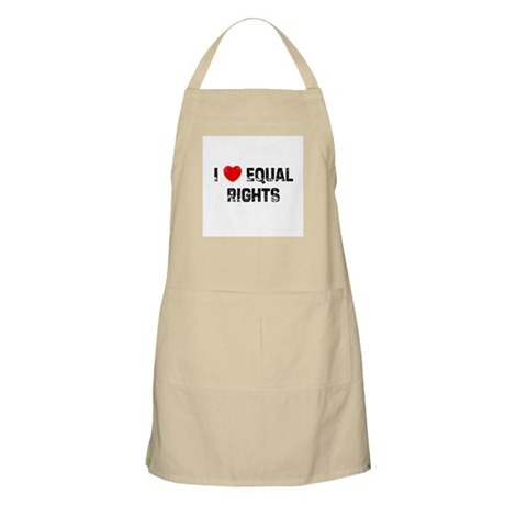 I * Equal Rights BBQ Apron