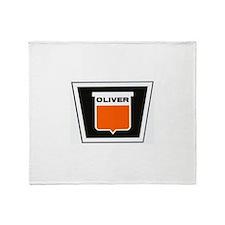 oliver newer Throw Blanket