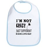 I'm not Crazy just different Pole Vault Bib
