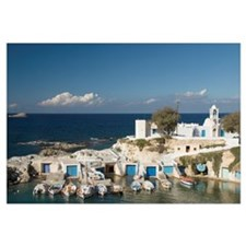 Greece, Cyclades, Island Of Milos, Village Of Mand