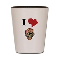 I LOVE ZOMBIES GRAPHIC TEE Shot Glass