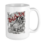 Large Bulldog Mug - Brickwall Bully
