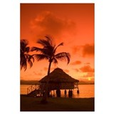 Panama, San Blas Islands, Yandup Island, Sunrise O
