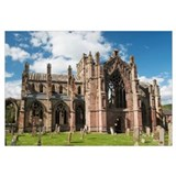 United Kingdom, Scotland, Melrose, Ruins Of The Me