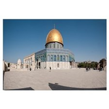 Town square, Dome Of the Rock, Temple Mount, Jerus