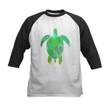 GREEN SEA TURTLE Baseball Jersey
