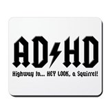 ADHD Mousepad