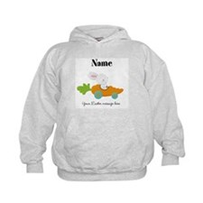 Personalized Easter Bunny Car Hoodie