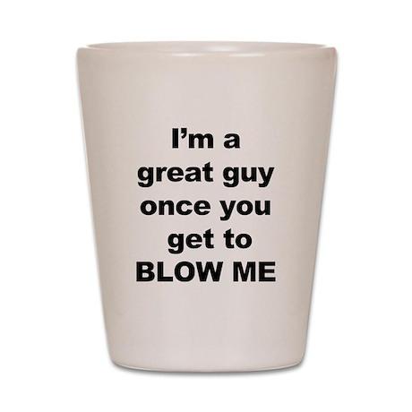 blow Shot Glass