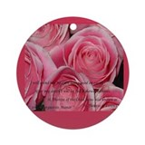 St therese Round Ornaments