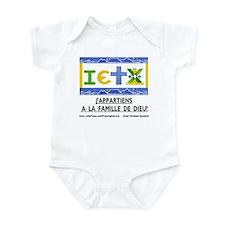 Francais: La Famille Infant Bodysuit
