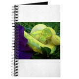 Unique Green tree python Journal