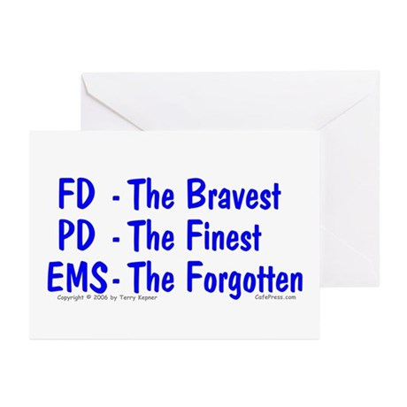 EMS - The Forgotten Greeting Cards (Pk of 10)