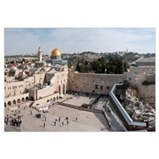 Wailing Wall, Dome Of the Rock, Temple Mount, Jeru