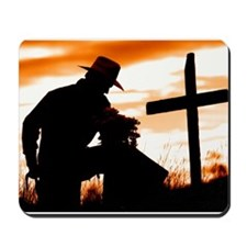 """Cowboy Prayer"" Mousepad"