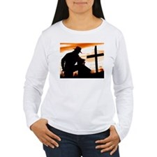 """Cowboy Prayer"" Long Sleeve T-Shirt"