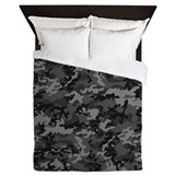 Cute Military Queen Duvet