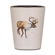 Caribou Animal Shot Glass