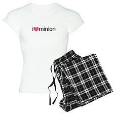 I Love Minion (Pink Heart) Pajamas
