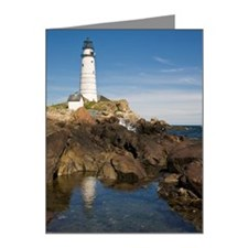 Boston Light Note Cards (Pk of 20)