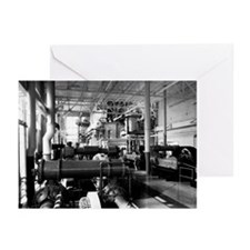 Engine room Greeting Cards (Pk of 10)