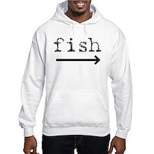 """Fish (arrow)"" Jumper Hoody"