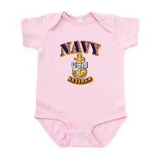 NAVY - CPO - Retired Infant Bodysuit