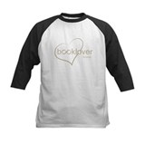 Book Lover Forever - tan Baseball Jersey