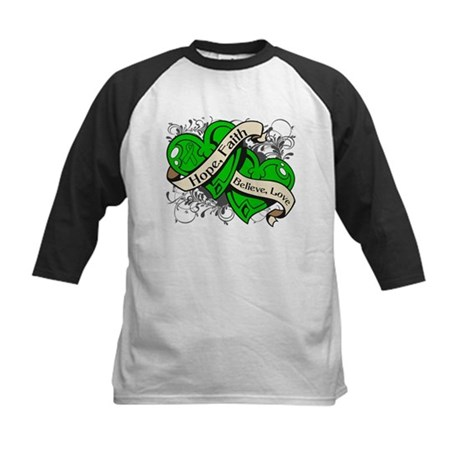 Cerebral Palsy Hope Dual Heart Kids Baseball Jerse
