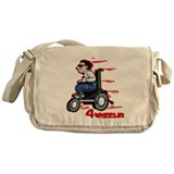 Cute Paraplegic Messenger Bag