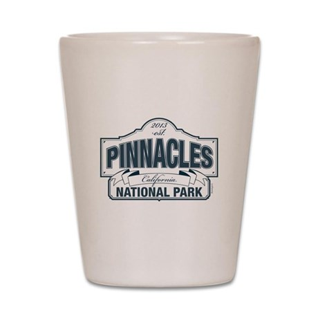 Pinnacles National Park Shot Glass