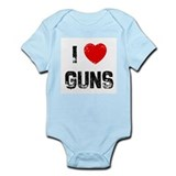 I * Guns Infant Bodysuit