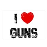 I * Guns Postcards (Package of 8)