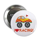"I Heart Racing 2.25"" Button"