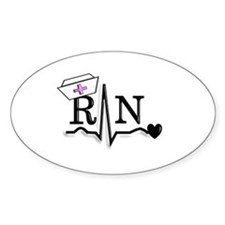 oncology RN Decal