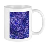 Mug-Blue Paisley Design
