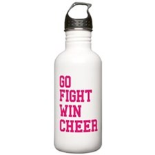 Funny School cheerleader Water Bottle