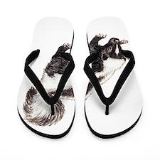 Skunk Animal Flip Flops