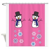 Cute Holidays Shower Curtain