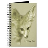 Antiqued Fennec Fox Journal