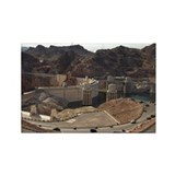 Hoover Dam, Lake Mead National Re Rectangle Magnet