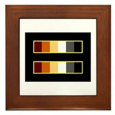Equality Bear Black Framed Tile