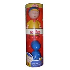 Caillou Figure Tubes - Caillou And Rex