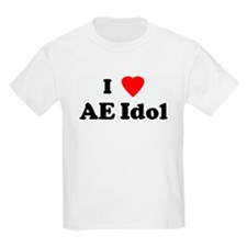 I Love AE Idol Kids T-Shirt
